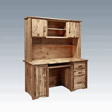 Pine Desk With Hutch Amish Homestead Pine Desk Hutch