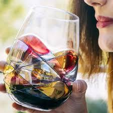 cornet barcelona sagrada stemless wine glasses
