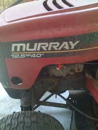murray riding mower won u0027t engage in gear and move lmrm power forum