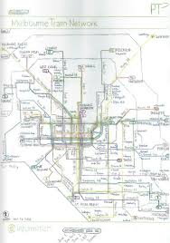 melbourne tram map yarra trams forward thinking melbourne s tram map of the future
