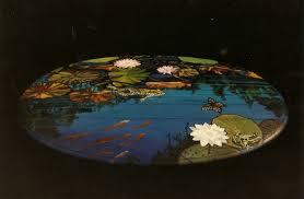 Painting Coffee Tables Bonnie Siracusa Murals U0026 Fine Art