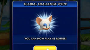 sonic dash news rouge the bat unlocked youtube