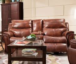 Reclining Sofa With Console by Allure Double Reclining Sofa With Console By Southern Motion