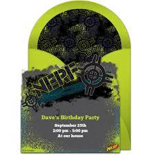 free nerf target online invitation punchbowl com