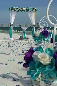 turquoise wedding wedding purple and turquoise wedding