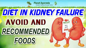 diet in kidney failure avoid and recommended foods youtube