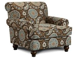 Traditional Accent Chair Fusion Furniture 622 Traditional Accent Chair With Rolled Arms And