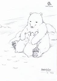 mother bear baby bear coloring pages