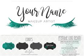 volkswagen eyelash premade logo u0026 watermark makeup logo artist logo beauty logo