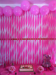 party streamer and balloon decorations just because pinterest