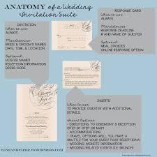 wedding invitation inserts wedding invitation inserts wording best of the anatomy of a