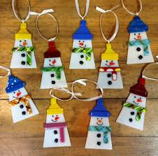 fused glass ornaments search