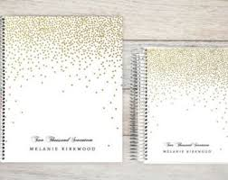 personalized wedding planner personalized planner etsy