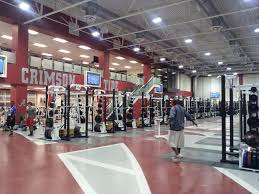 photo alabama u0027s weight room plastered with texas a u0026m towels and