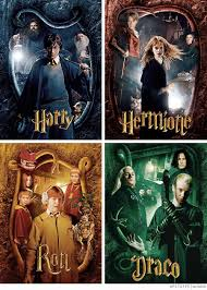 harry potter hermione granger ronald weasley draco malfoy