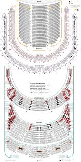 Radio City Music Hall Floor Plan by Carnegie Hall Seating Chart New Detailed Seating Chart 2014