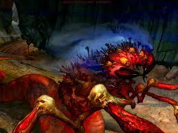 allpapers halloween artwork original colourful artistic evil