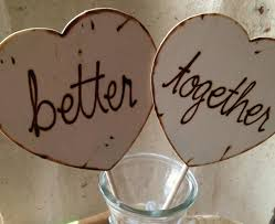 Engagement Photo Props Wedding Engagement Photo Props Hearts Better Together Such Great
