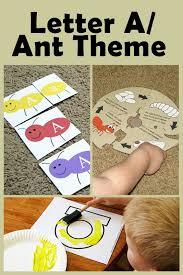 mommy u0027s little helper letter a as in ant preschool theme