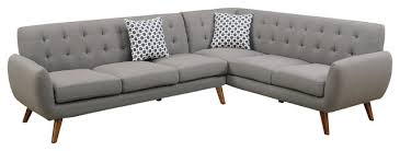 mid century modern sofa with chaise mid century modern sectional sofa bonners furniture