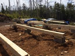 cabin floor how to build a rock solid low cost grid cabin foundation