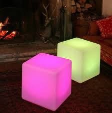 light up cubes colour changing outdoor light cube by jusi colour