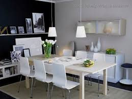 Ikea Dining Room  Norrker Norrker Table And  Chairs White - Ikea dining room ideas
