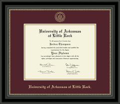 diploma frame of arkansas at rock gold embossed diploma frame
