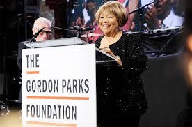 Staples Big Chair Event Mavis Staples Jon Batiste Honored At Gordon Parks Foundation