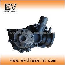 diesel engine parts isuzu 8980986620 water pump 4le2 oem number