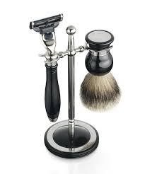 classic shaving set u0026 stand black dalvey