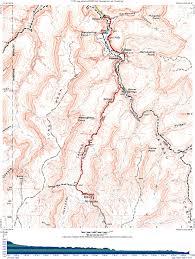 Map Grand Canyon Grand Canyon Havasupai Campground Map Grand Canyon Havasupai