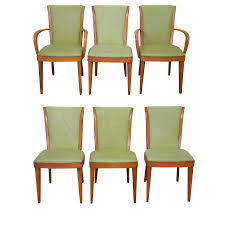 heywood wakefield vintage dining chairs set of 6 chairish