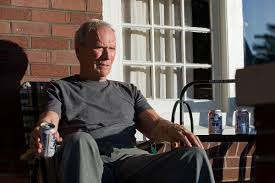 Clint Eastwood Chair Meme - attention hipsters this is the correct way to drink pbr imgur