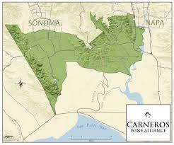 Sonoma Winery Map What U0027s Cool In Carneros Carneros Wine Alliance Members Unveil The