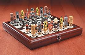 Chess Set Amazon Amazon Com Jack Daniel U0027s Wooden Chess Set Includes Board And