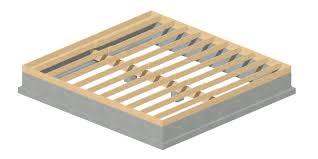 raised floor foundation vs slab on grade professional drafting