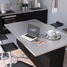 ilot cuisine castorama plan de travail pour ilot central effet aluminium cuisine castorama