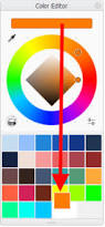 color palettes in the different versions of autodesk sketchbook