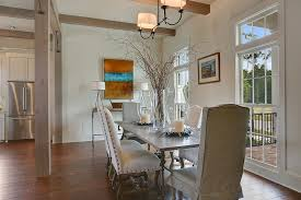 london zinc dining table kitchen contemporary with pendant lights
