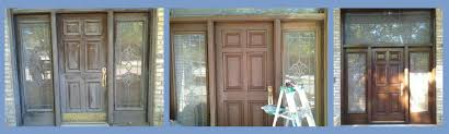 Refinish Exterior Door Door Refinish Door Refinishing Front Door Staining Dfw Painting