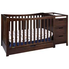 4 In 1 Convertible Crib With Changer Stunning Convertible Baby Cribs With Drawers Design Gallery