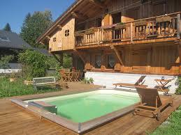 hotel et chambre d hote de charme l epilobe chambre d hôtes de charme avec piscine à samoëns