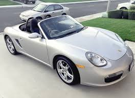 Porsche Boxster 2001 - upgraded to a boxster base 987 manual from an 2001 honda civic