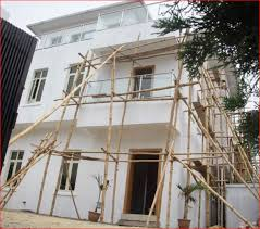 Renovate House Davido The Uncompleted Building And The Renovated House