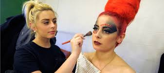 makeup special effects school theatrical special effects hair and media make up level 3