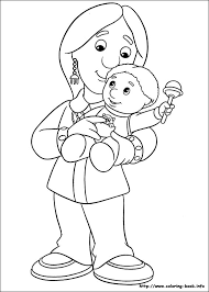 postman pat coloring pages coloring book