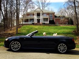 convertible audi 2016 audi a5 convertible cabriolet review in cary north carolina
