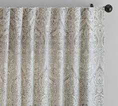 Grommet Curtains 63 Length 63 Inch Drape 63 In Drape 63 Inch Curtain Pottery Barn