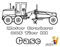 macho coloring pages of tractors construction free